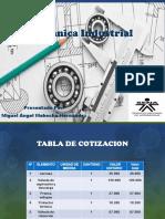 Mecánica Industrial Tarea