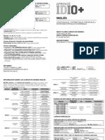 Certificacion Rendimiento Academico EVC 2018