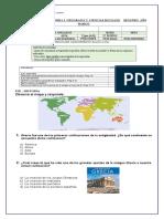 evaluacion diagnostico 4º
