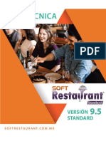 Ficha Tecnica Soft Restaurant 9.5 Standard