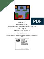 Arqueomusicología revista chile