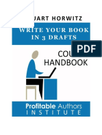 Write your book in three drafts