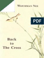 Back to the Cross - Watchman Nee.epub