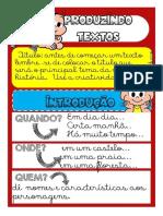 Cartazes de Apoio Para Produ__o de Texto Turma Da Monica