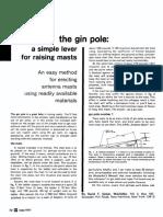 The Gin Pole