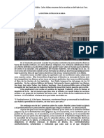 Doctrina Católica en la Biblia