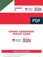 Stroke Assessment Pocket Guide
