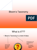 blooms taxonomy  1