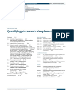 Quantifying Pharmaceutical Requirement - MDS ED 3