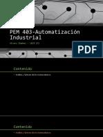 PEM403 Autom Ind 2 Algebra Dispositivos