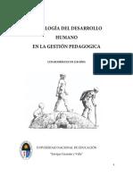 PSICOLOGIA DEL DESARROLLO HUMANO