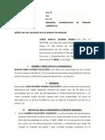 JORGE MARCO GUARNIZ PEREDA Exoneración de Pension de Alimentos 2