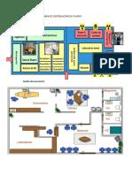 Presenta Un Mapa de Distribución de Planta