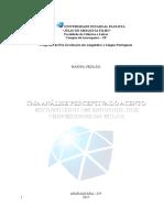 Estudo sobre percepção do acento estrangeiro espanhol dos professores da FCLAR