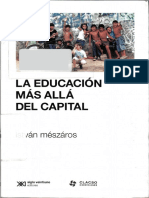 Meszaros Istvan - La Educacion Mas Alla Del Capital.pdf