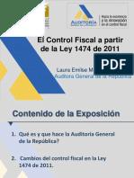 El Control Fiscal Ley 1474