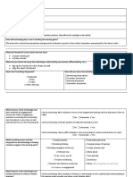 it planning form- interactive activity