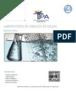 Laboratorio de Analisis de Aguas 2019