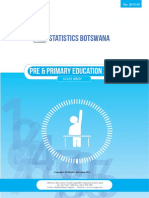 Pre Primary Education 2013 - 2015