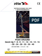 Manual Plataforma Telescopica