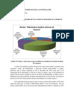 Análisis de Contenido- Noticia de Diario El Comercio