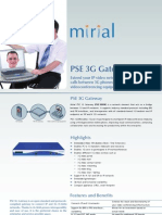 PSE.3GGW Datasheet