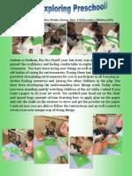 Usaid Exploring Preschool Preschool!
