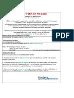 Macros y VBA en MS Excel