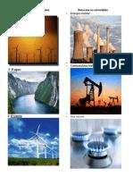 Ejemplos de Recursos Renovables, No Renovables e Inagotables