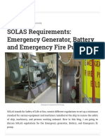SOLAS Regulations_ Emergency Generator and Emergency Fire Pump