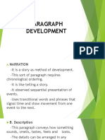 Paragraph Development 2