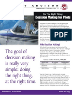 AOPA - Decision Making for Pilots