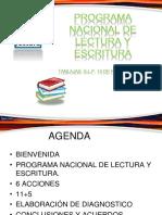Programa Nacional de Lectura 6 Acciones[1]