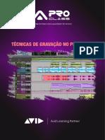 ProClass - E-Book de Pro Tools - Gravação