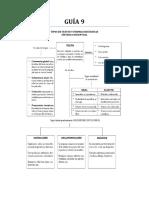 Guc3ada 9 Tipos de Textos y Formas Discursivas