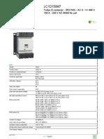 Motor Starter Components Finder_LC1D150M7