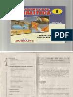 Cuzcano - Geometria Analítica 1- Nociones Generales