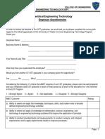 EET Employer Survey