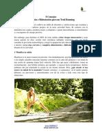 trail running nutricion