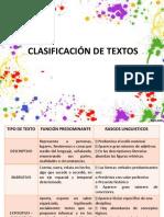 Clasificacion de Textos