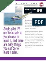 AOPA - Single-Pilot IFR