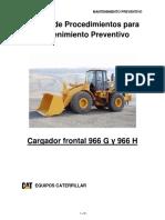 Manual de Procedimintos Cargador Frontal 966g y 966h
