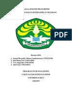 305067064 Tugas Makalah Komunikasi Negosiasi Docx