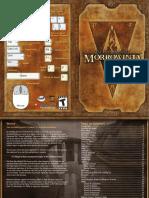The Elder Scrolls III - Morrowind - Manual.pdf