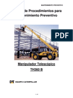 Manual de Procedimientos Manipulador Telescopico Th360 b