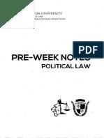San Beda Preweek Political Law 2018