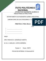 Practica 5 Fuel Cells
