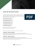 Guía de resoluciones