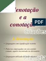 A denotação e a conotação - Cópia.ppt
