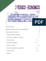 PROYECTO COOPERATIVA DE TRANSPORTE CHURUATA